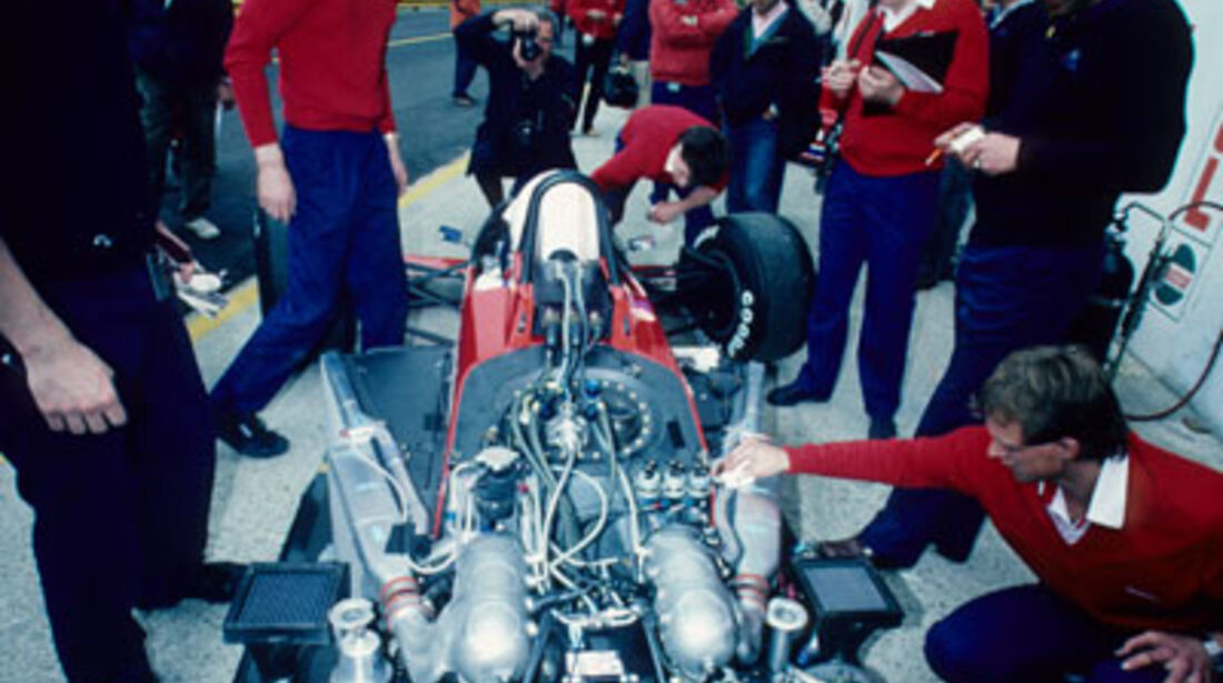 1986 Lola Ford V6 Turbo