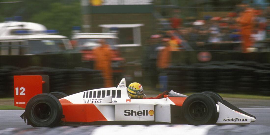 1988 McLaren Honda Senna V6 Turbo