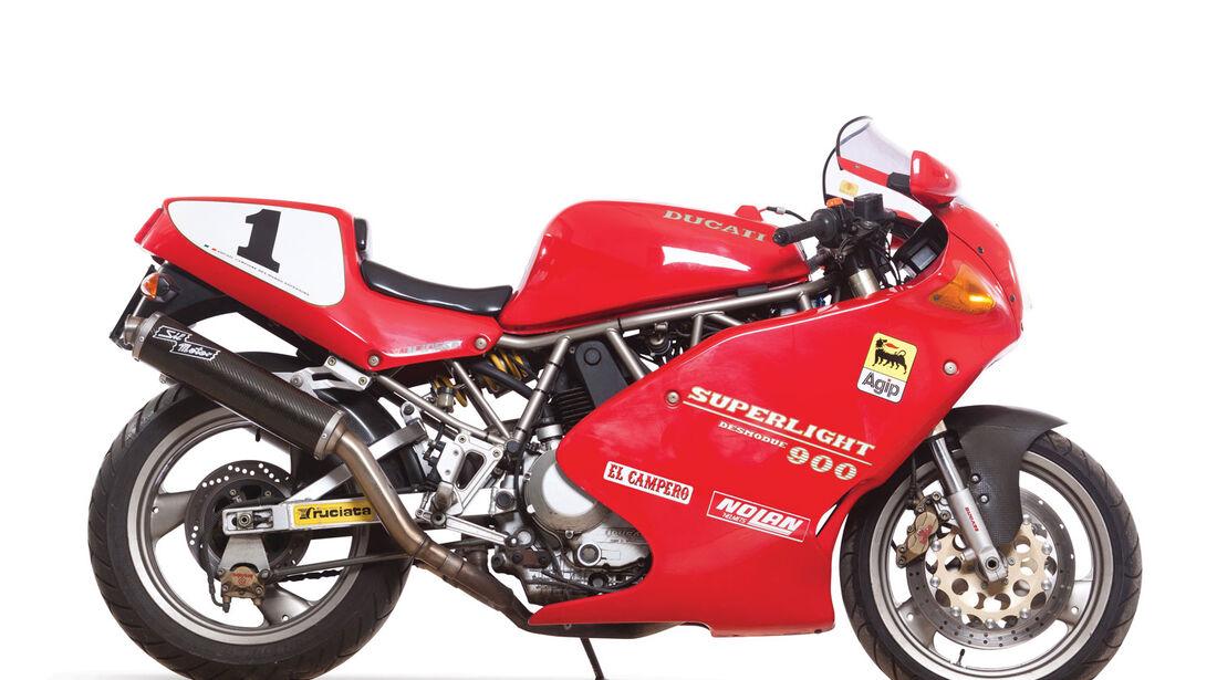 1993 Ducati 900 Superlight RM Auctions Monaco 2012