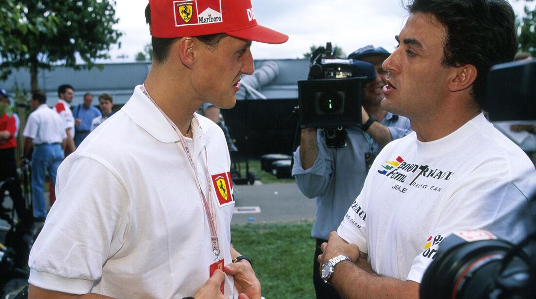 1997 Alesi Schumacher