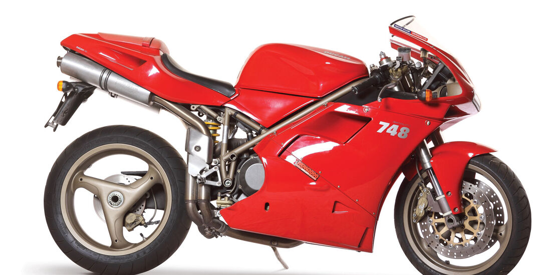 1999 Ducati 748 Biposto RM Auctions Monaco 2012