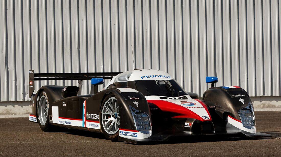 2007er Peugeot 908 V-12 HDi FAP Le Mans Racing Car