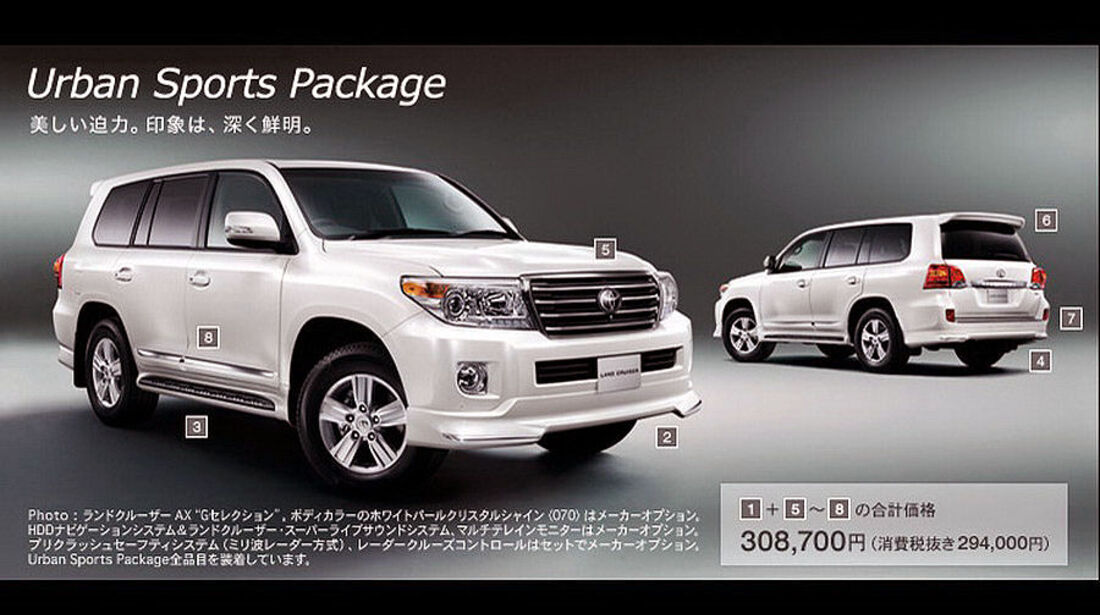2012 Toyota Land Cruiser 200 V8