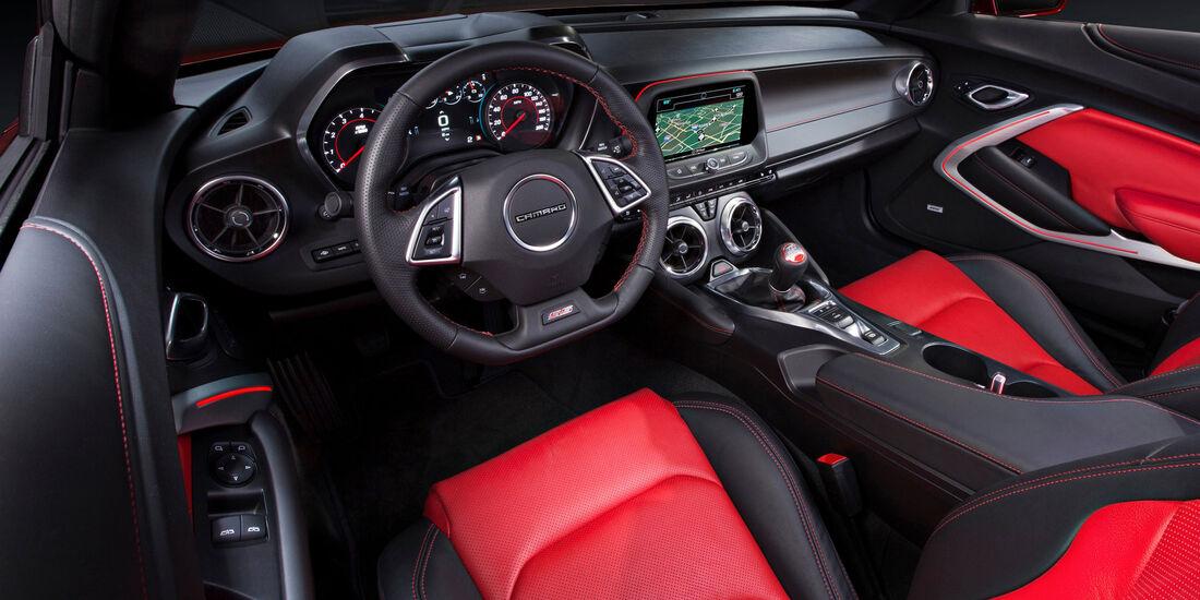 2017 Chevrolet Camaro - Muscle Car - Lenkrad - Innenraum