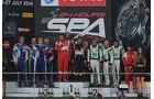24 h Rennen Spa Podium GTR