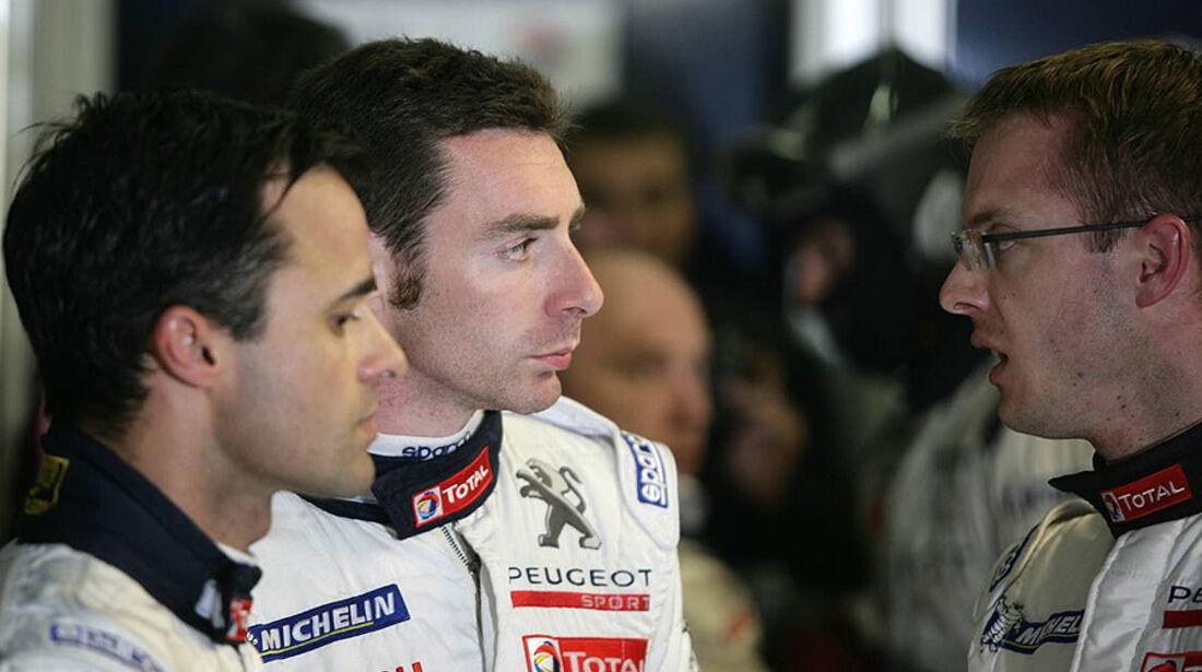 24h Le Mans 2010 Simon Pagenaud Pedro Lamy Sebastien Bourdais