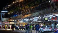 24h Le Mans Boxengasse