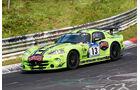 24h-Nürburgring - Nordschleife - Chrysler Viper - Sponsor: skate aid e. V. - Klasse AT - Startnummer #13