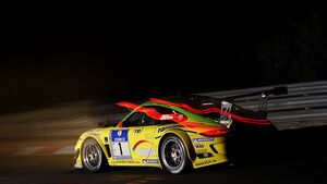24h-Rennen Nürburgring 2010 Manthey nacht