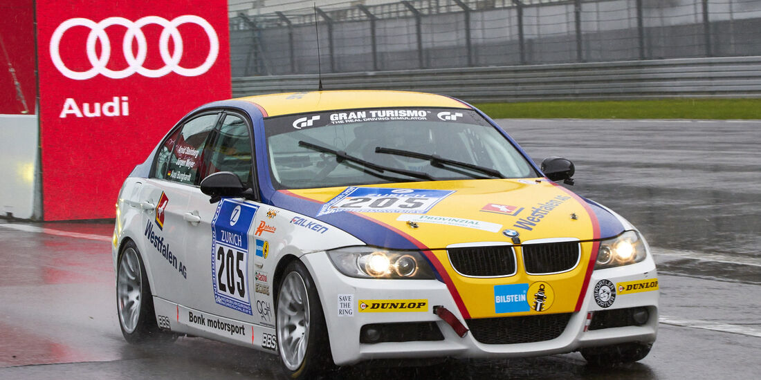 24h-Rennen Nürburgring 2013, BMW 320 SI , V3, #205