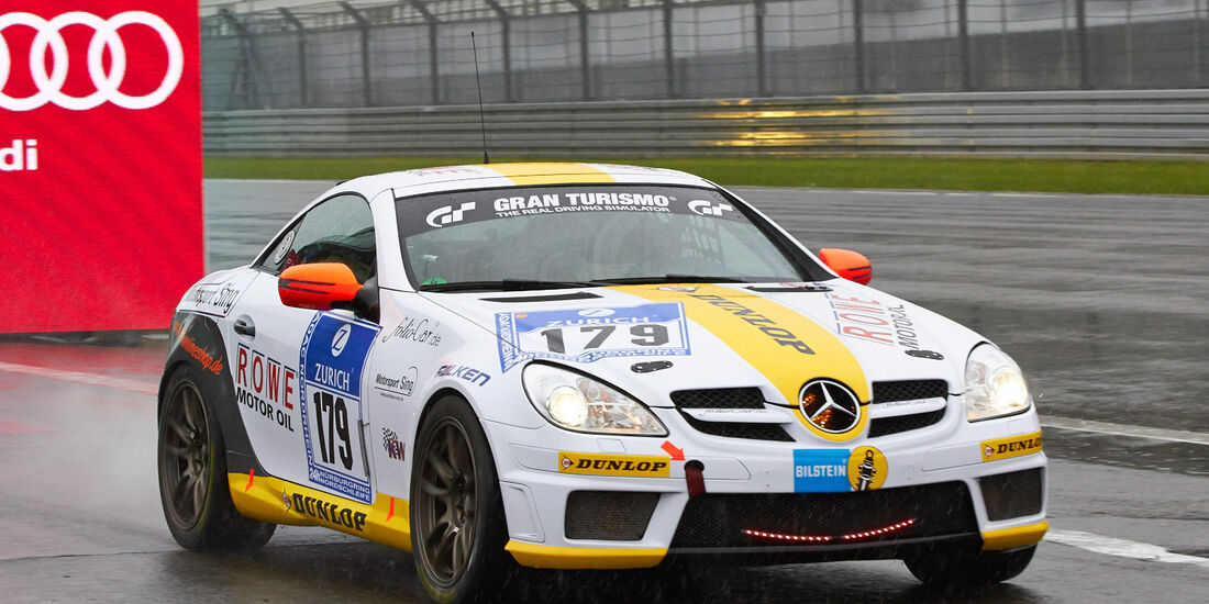 24h-Rennen Nürburgring 2013, Mercedes-Benz SLK 350 , V6, #179