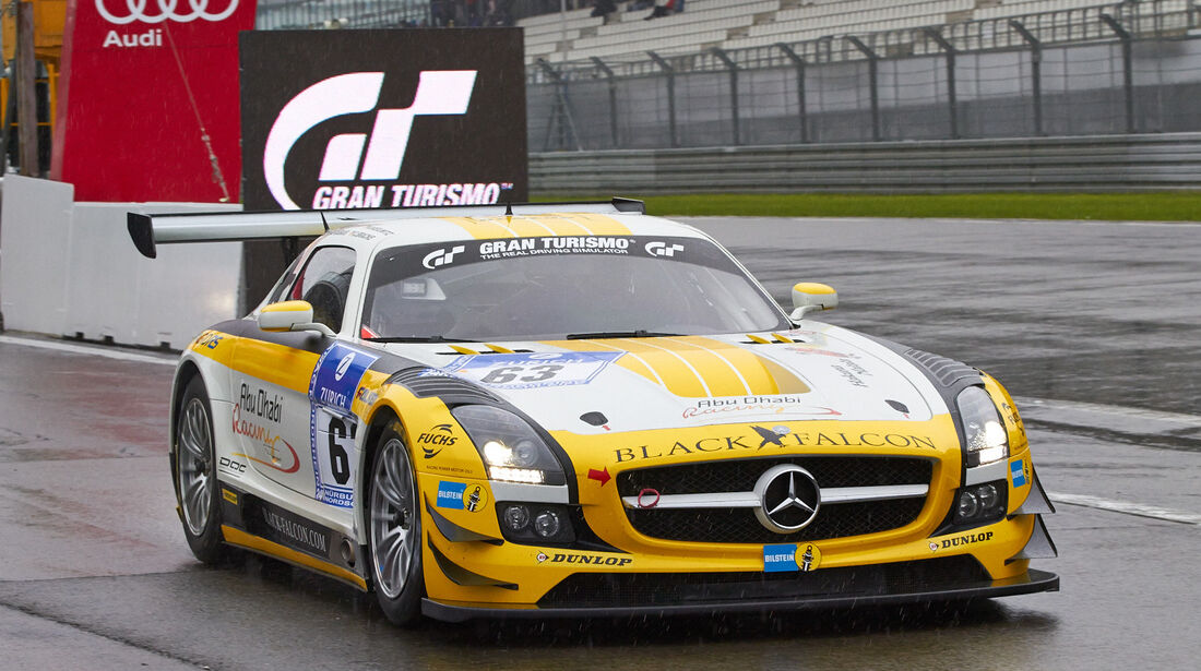 24h-Rennen Nürburgring 2013, Mercedes-Benz SLS AMG GT3 , SP 9 GT3, #63