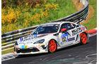 24h-Rennen Nürburgring 2017 - Nordschleife - Startnummer 132 - Toyota GT 86 - Manheller Racing - Klasse SP 3