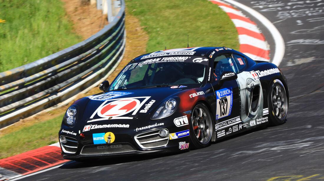 24h-Rennen Nürburgring 2017 - Nordschleife - Startnummer 137 - Porsche Cayman S - Mathol Racing e.V. - Klasse V 6