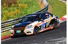 24h-Rennen Nürburgring 2017 - Nordschleife - Startnummer 155 - Mercedes-Benz C 230 - Team AutoArenA Motorsport - Klasse V 4