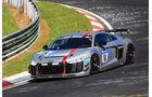 24h-Rennen Nürburgring 2017 - Nordschleife - Startnummer 18 - Audi R8 LMS GT4 - Audi Sport Team Phoenix - Klasse SP-X