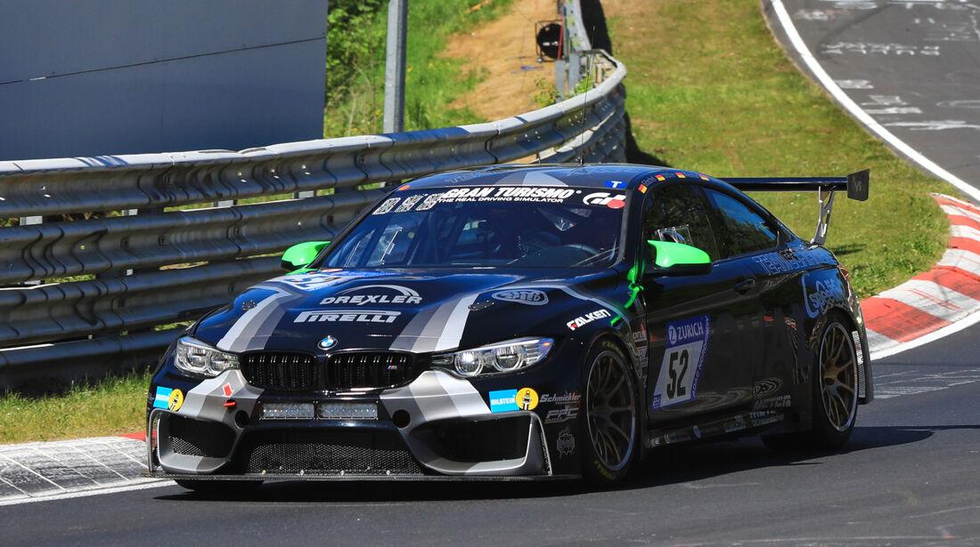 24h-Rennen Nürburgring 2017 - Nordschleife - Startnummer 52 - BMW M4 - Team Schirmer - Klasse SP 8T