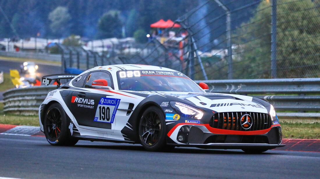 24h-Rennen Nürburgring 2018 - Nordschleife - Startnummer #190 - Mercedes-AMG GT4 - Mercedes-AMG Team Driving Academy