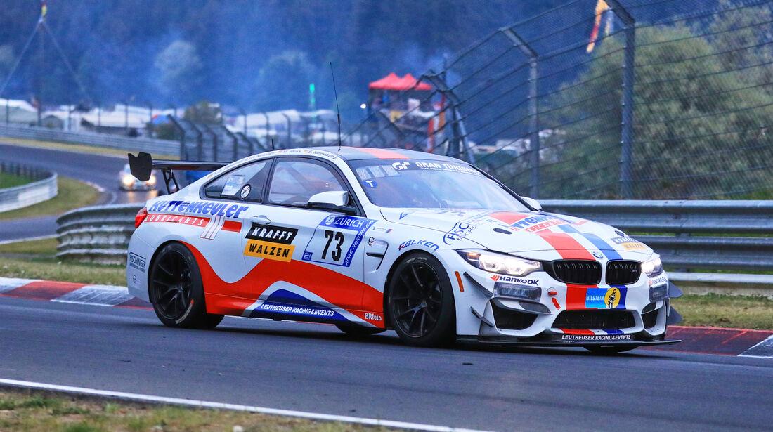 24h-Rennen Nürburgring 2018 - Nordschleife - Startnummer #73 - BMW M4 GT4 - Leutheuser Racing & Events - SP10