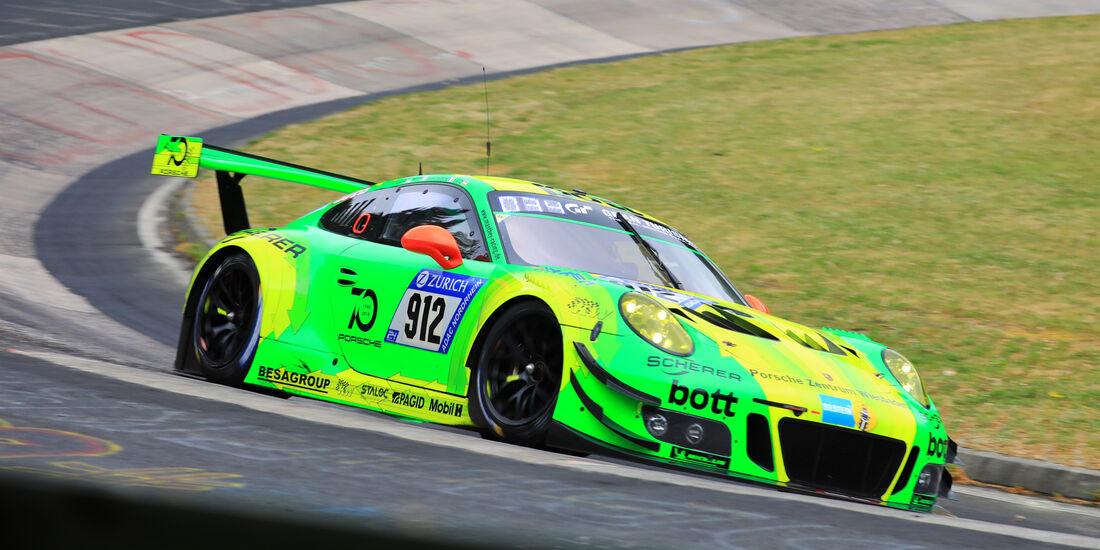 24h-Rennen Nürburgring 2018 - Nordschleife - Startnummer #912 - Porsche 911 GT3 R - Manthey Racing - SP9