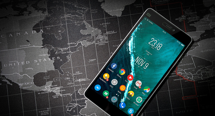 4/2019, Google Maps Android Smartphone