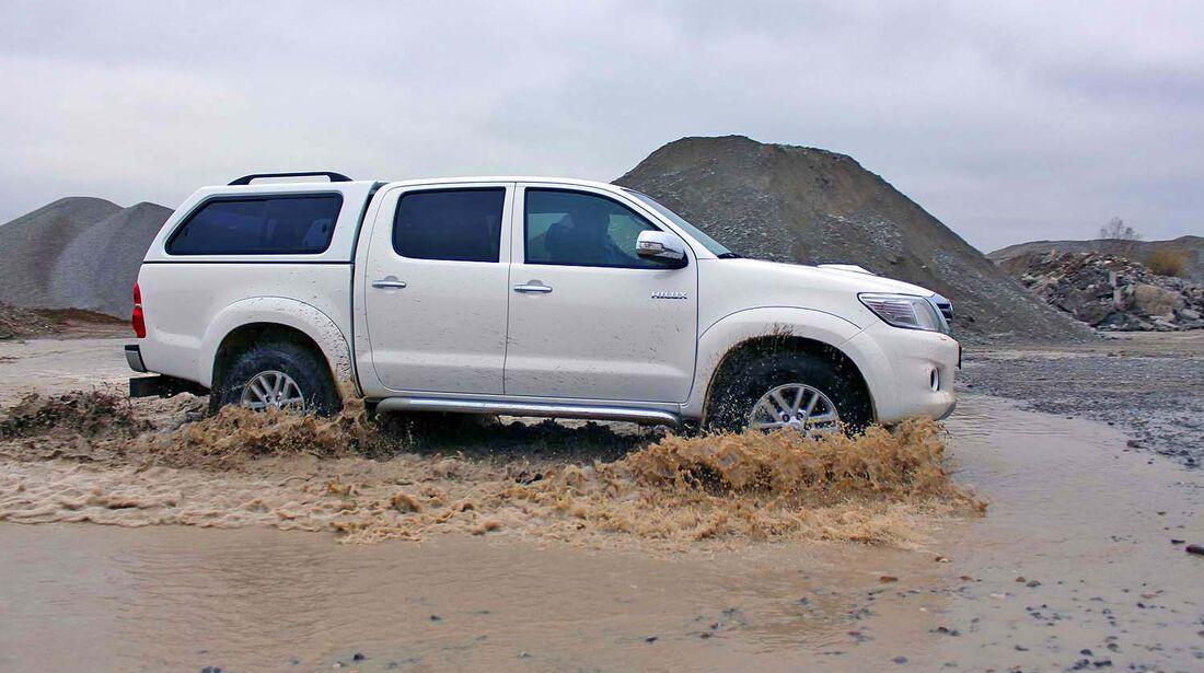 4Wheel-Fun Pickup-Vergleichstest 2014: der Toyota Hilux