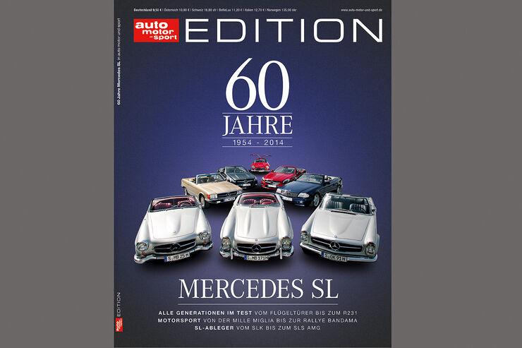60 Jahre Mercedes SL Titel