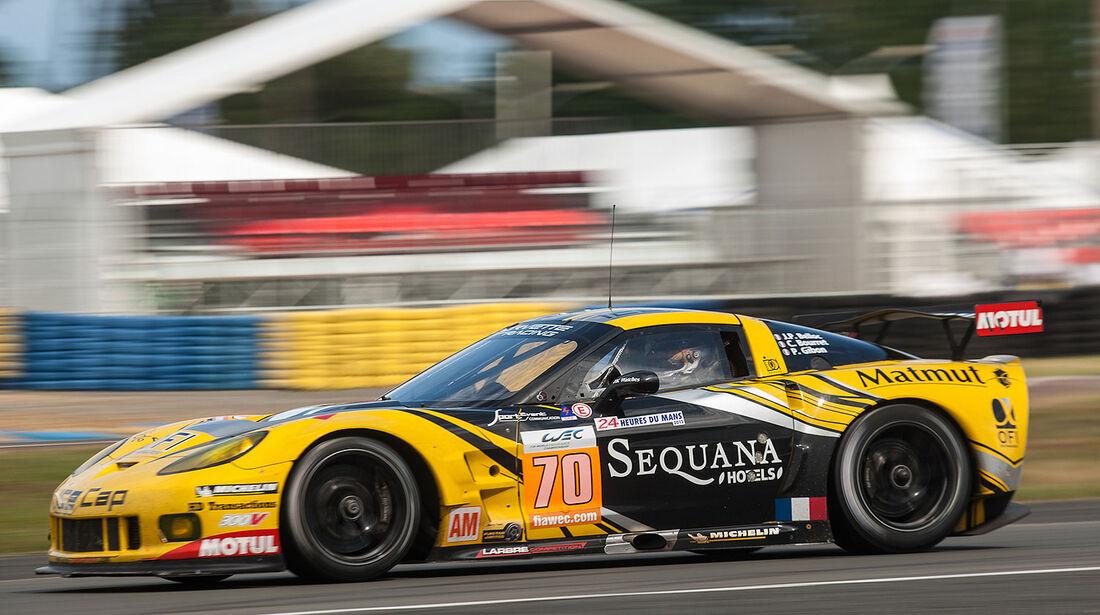 70-Am-GTE-Klasse, Chevrolet Corvette C6-ZR1, 24h-Rennen LeMans 2012