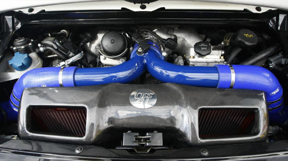 9ff BT1000 4WD, Motor