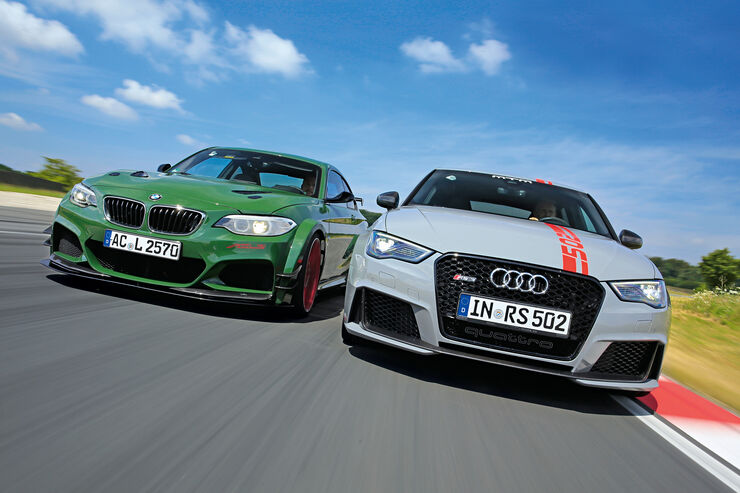 AC Schnitzer-BMW ACL2, MTM-Audi RS 3 Sportback