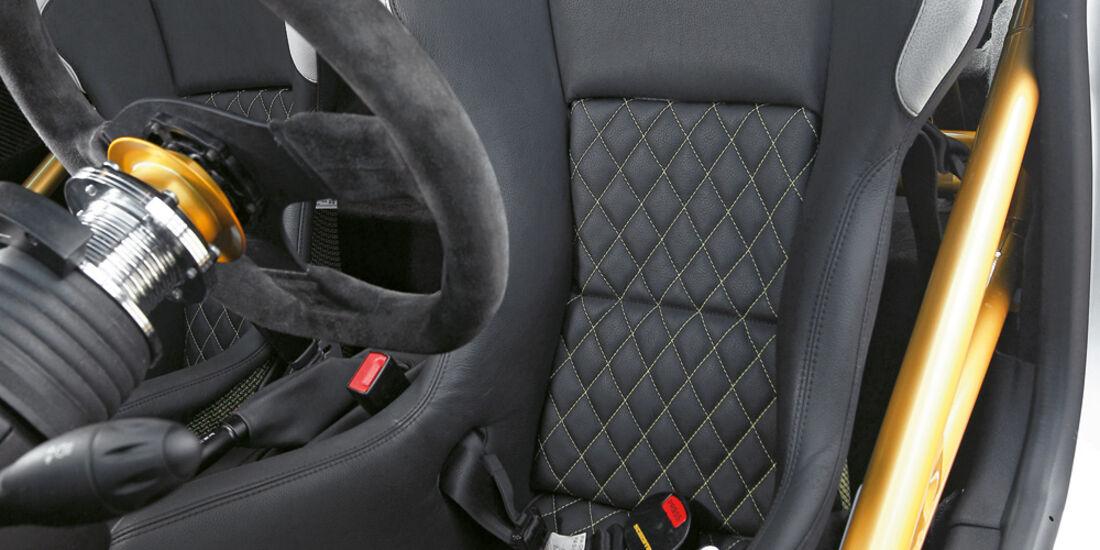AC Schnitzer Raptor Mini JCW Coupé, Fahrersitz