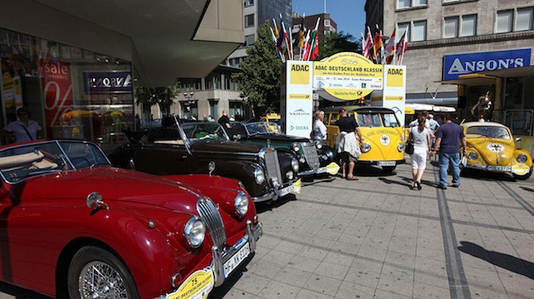 ADAC Deutschland Klassik, Oldtimerwandern, Ausfahrt