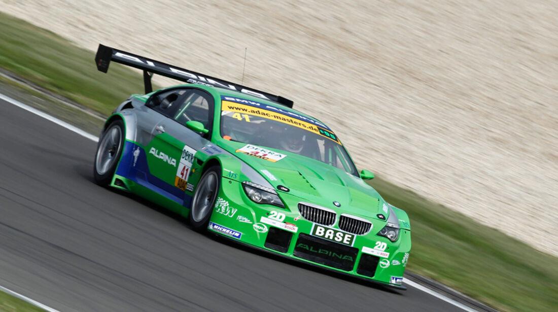 ADAC GT-Masters, Alpina BMW, Frontansicht