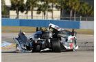 ALMS GT Sebring, Audi E-Tron, Unfall
