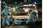 ALMS GT Sebring, BMW Z4 GTE, Box, Radwechsel
