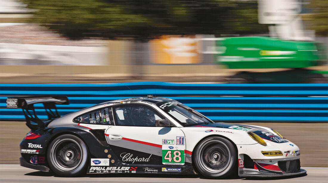ALMS GT Sebring, Porsche RSR