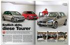 AMS Heft 05 BMW 2er Active Tourer Vergleich