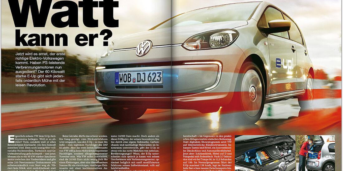 AMS Heft 24/2013 Report VW E-Up & Co.