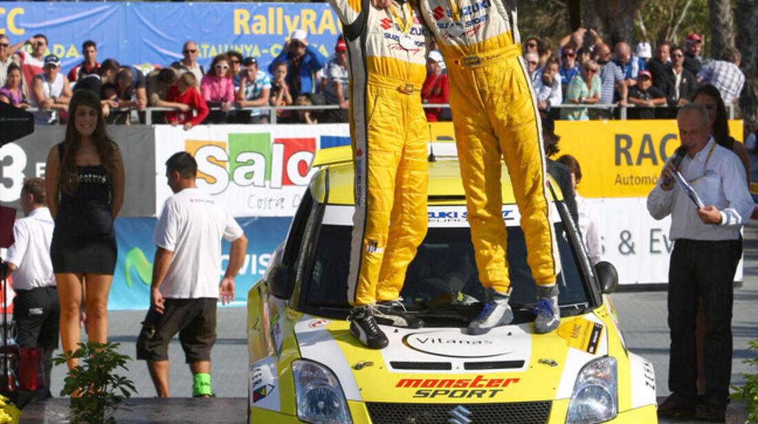 Aaron Burkart Rallye Spanien 2010