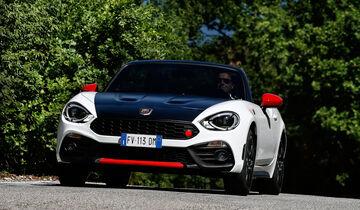 Fahrbericht Abarth Spider Mehr Als Nur Ein Stärkerer Fiat 124