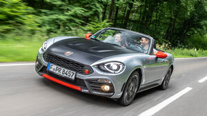 Abarth/Fiat 124 Leser Test Drive  2018