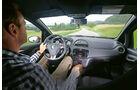 Abarth Punto Evo, Cockpit, Fahrersicht