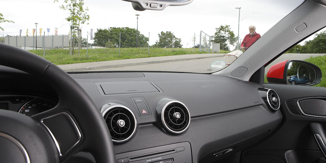 Abbiegesicht, Audi A1