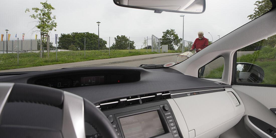 Abbiegesicht, Toyota Prius