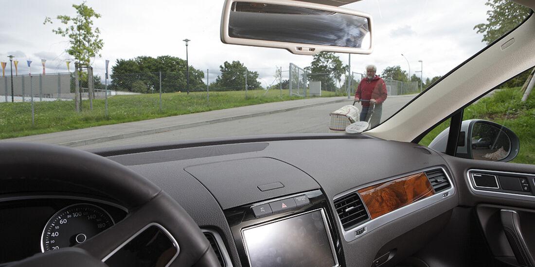 Abbiegesicht, VW Touareg