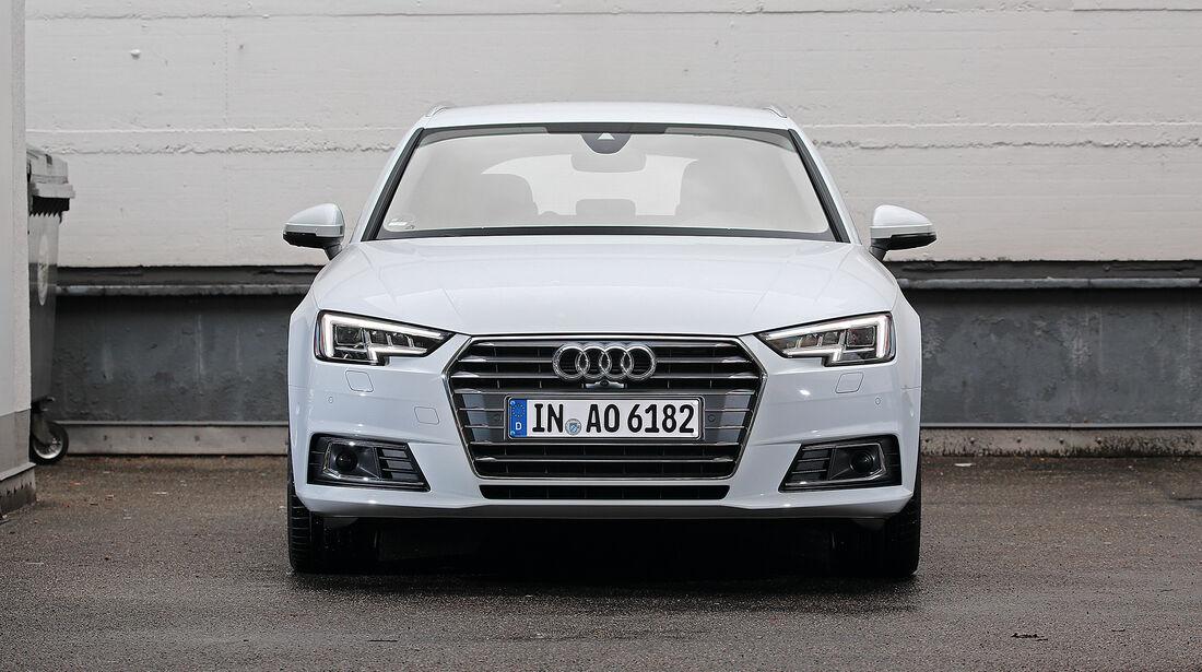 Abgasmessung, Audi A4 Avant 2.0 TDI