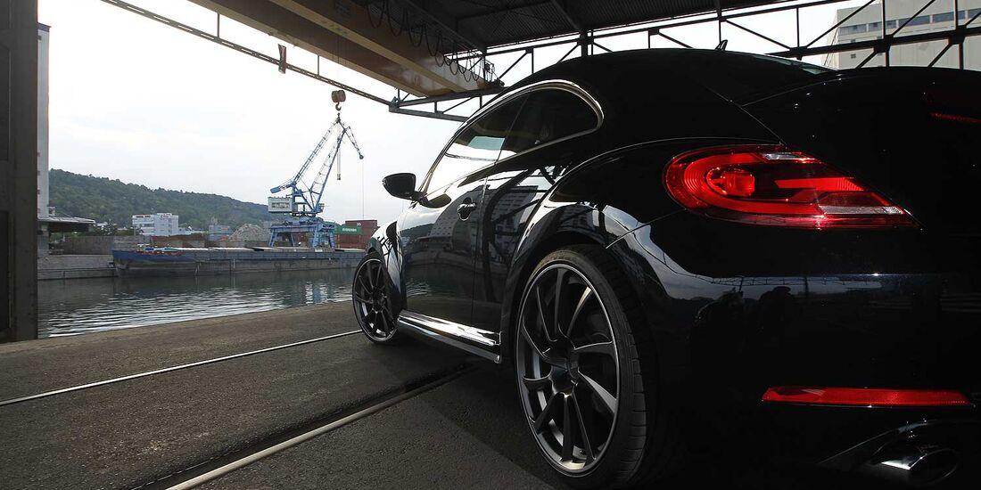 Abt-VW Beetle 2.0 TSI, Heckansicht