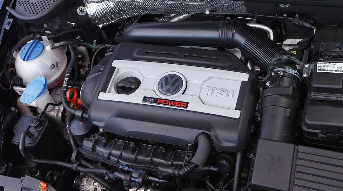 Abt-VW Beetle 2.0 TSI, Motor