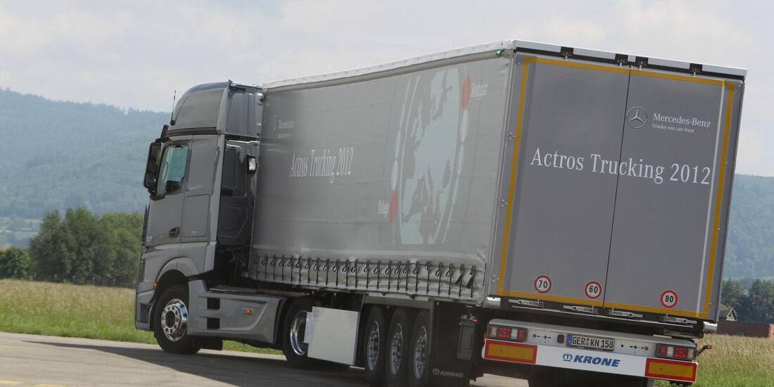 Actros, Heck