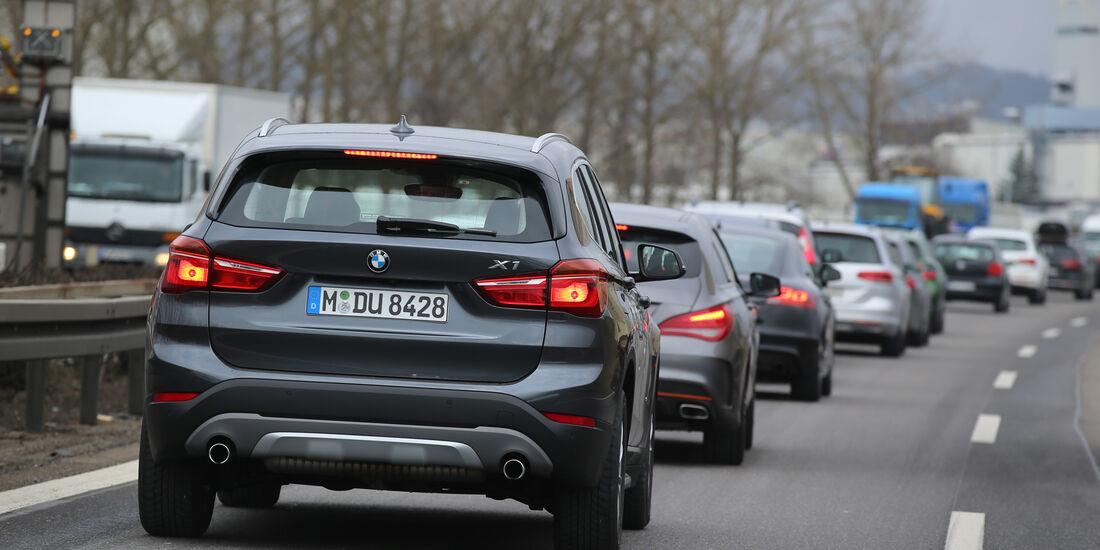 Adaptive Tempomaten, BMW X1